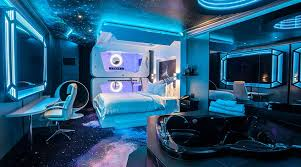 Galaxy Themed Bedroom Space Theme Room