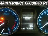 rav4 maintenance required light 2018 toyota corolla oil light reset fresh how to reset maint