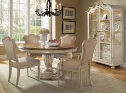 extendable dining room table provenance round extendable dining room set from art coleman furniture
