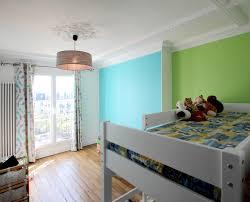 chambre fille bleu chambre bleu et jaune