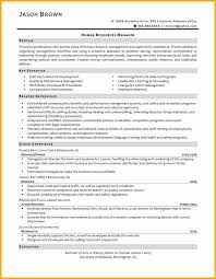 Human Resource Manager Resume Sample by Hr Officer Resume Template