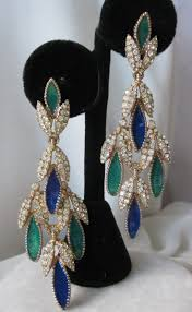 Costume Chandelier Earrings 371 Best Ciner Jewelry Images On Pinterest Antique Jewelry