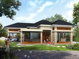 designing nice looking modern single story house plans uk