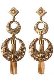 edie sedgwick earrings factory girl edie sedgwick byzantine hoop and tassel earrings ebay