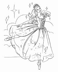 ballet coloring with sleeping beauty coloring page ballet