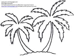 coloring pictures of a palm tree palm tree coloring pages shape for onesies baby shower gift