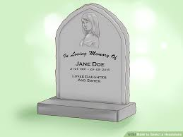 how much is a headstone 3 ways to select a headstone wikihow