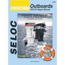 amazon com johnson evinrude outboard 1973 1991 repair and