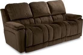 La Z Boy Recliners Sofas by La Z Boy Greyson Leather Power Reclining Sofa Centerfieldbar Com