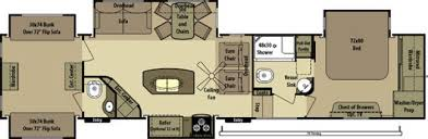 Open Range 5th Wheel Floor Plans 2014 Open Range Open Range 427bhs Fifth Wheel Southington Ct