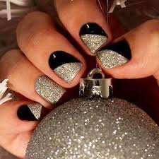 dazzling glitter party nails sparkly nails top nail and makeup
