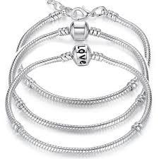 silver plated snake chain bracelet images 5 style silver plated love snake bracelets bangles a1brandplus jpg