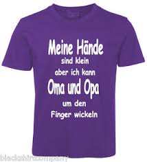 sprüche für oma kinder sprüche shirt oma und opa lila ebay