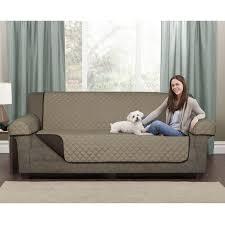 pet chair covers mainstays microfiber reversible sofa pet cover walmart canada
