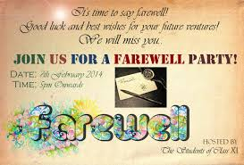 inspire card farewell party invitations admirable farewell party