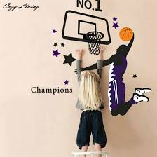 Sports Decals For Kids Rooms by Compare Prices On Basketball In Wall Stickers Online Shopping Buy