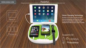 hank family charging station for smartphones u0026 tablets youtube