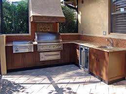 outside kitchen plans over the range microwave best kicthen design