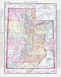Utah County Map Map Of Utah