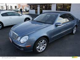Mercedes Benz E 2003 2003 Platinum Blue Metallic Mercedes Benz E 500 Sedan 46344831