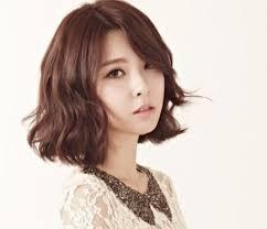 waivy korean hair style korean wavy short hair best short hair 2017