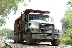 mack dump truck white brown and black mack dump truck free image peakpx