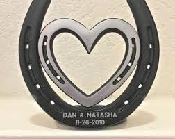personalized horseshoe engraved horseshoe etsy