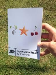 super mario bros 2 jon irwin book nes classic