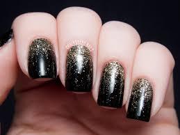 party perfect black and gold nail art ideas gold nail art