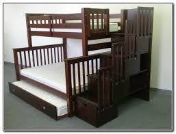awesome queen bunk beds with stairs latitudebrowser within full