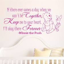 compare prices on kids wall decals online shopping buy low price winnie the pooh cartoon baby wall stickers home decoration bedroom decor vinyl removable wall decals kids