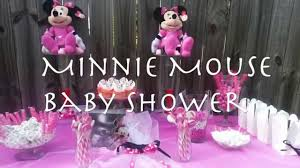 minnie mouse baby shower decorations minnie mouse themed baby shower