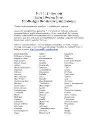 mus 101 2 review sheet middle ages