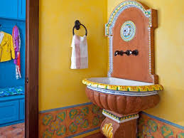 mediterranean bathroom ideas mediterranean bathrooms hgtv
