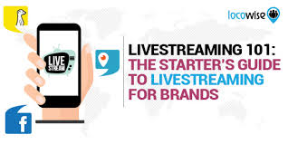 livestreaming 101 the starter u0027s guide to livestreaming for brands