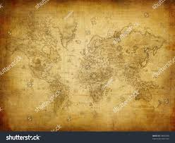 Ancient Map Ancient Map World Stock Illustration 18605090 Shutterstock