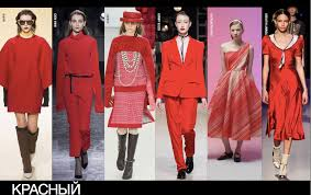 trends all shades of red evelina khromtchenko