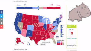 Election 2016 Map by Presidential Election 2016 Where Are The 270 Electoral Votes