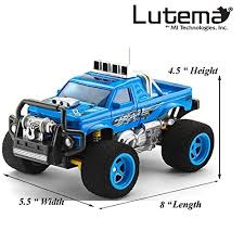 amazon black friday rc amazon com lutema blaze truck 4ch remote control truck blue