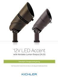 kichler landscape lighting introduces vlo
