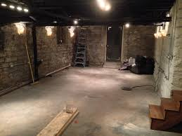 Ideas For Unfinished Basement Ideas For Light Unfinished Basement Lighting Jeffsbakery