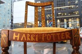 chair used by u0027harry potter u0027 author j k rowling up for auction