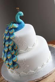 peacock bridal shower cake cakecentral com