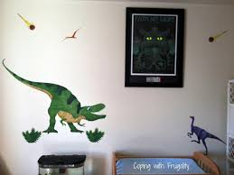 Wall Decals For Boys Designing Fun Pre Historic Bedroom For Little Boys And Babies