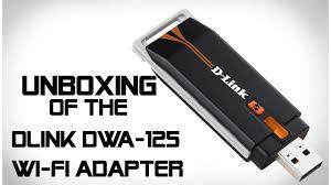d link clé usb wifi dwa 125 eu mytek d link dwa 125 usb wi fi adapter unboxing