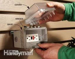 Outdoor Light Fixture With Outlet by How To Add An Outdoor Outlet Family Handyman