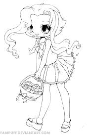 11 images of cute animal anime chibi coloring pages anime chibi