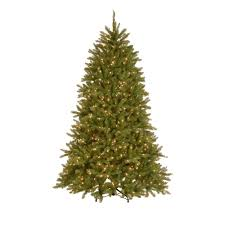 7 5 ft dunhill fir hinged artificial tree with 700 low