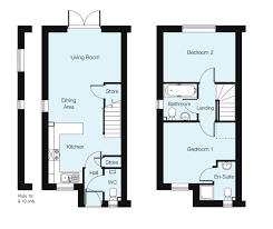 the ivy 2 bedroom house in primrose park new homes development