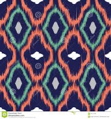 ikat seamless pattern for web design or home decor stock images
